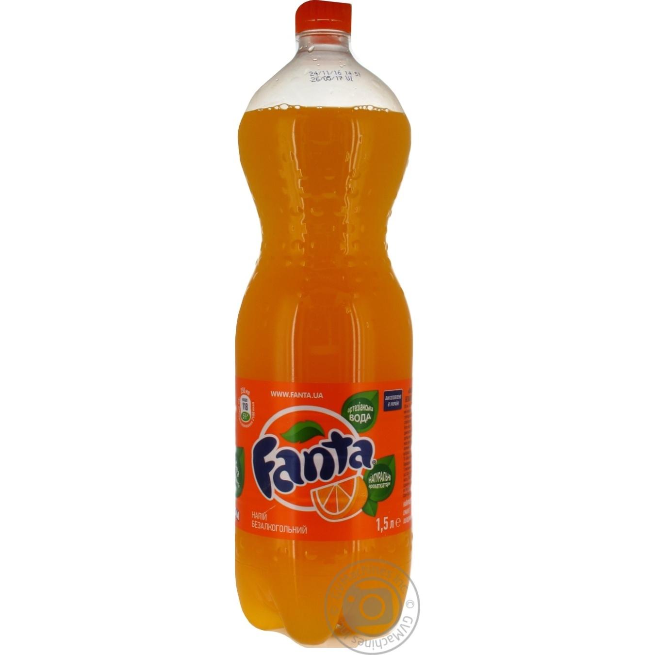 Напиток Фанта Апельсин 1500мл