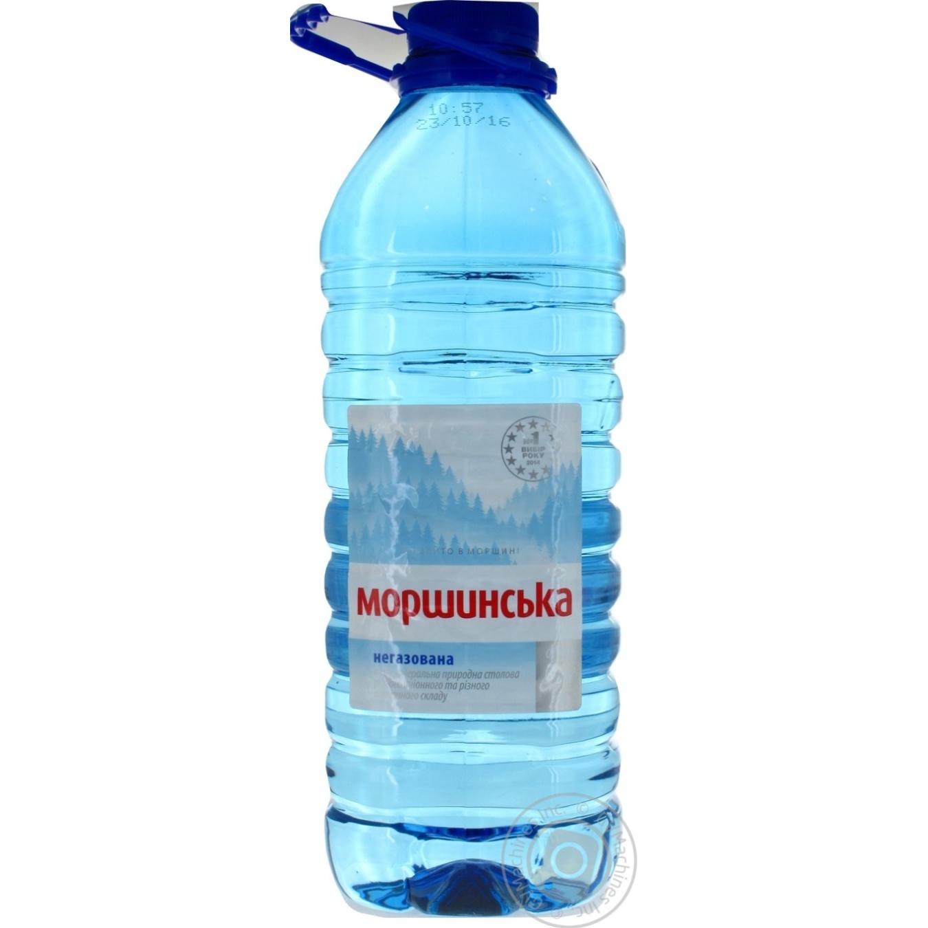 Вода Моршинская природная негазированная 3000мл
