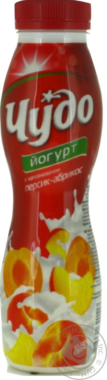 Йогурт питьевой Чудо персик-абрикос 2.5% 270г