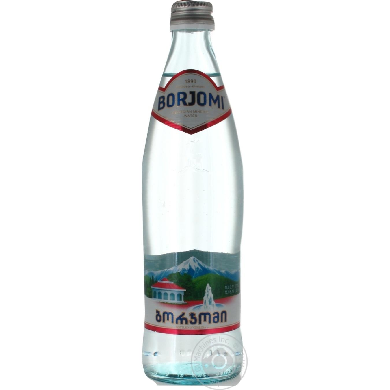 Вода Borjomi сильногазированная лечебно-столовая 500мл