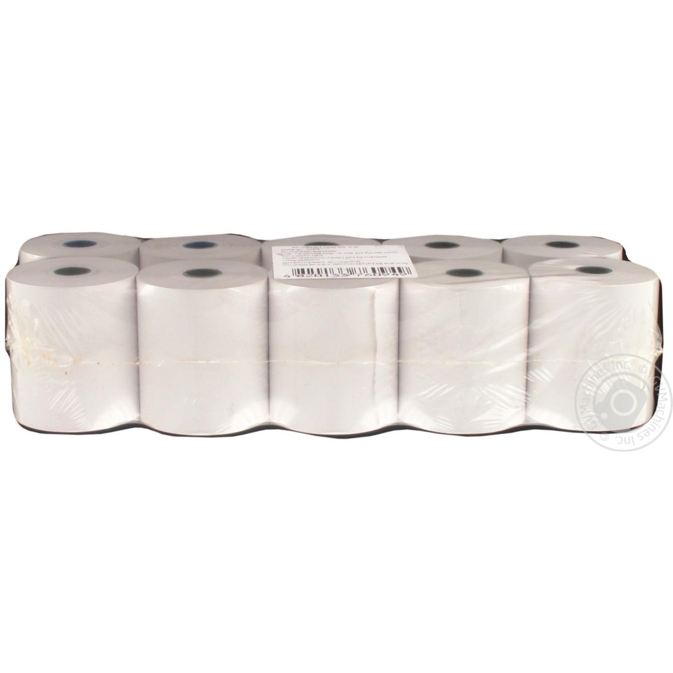 Кассовая лента 59,5 Термо 40м 10шт