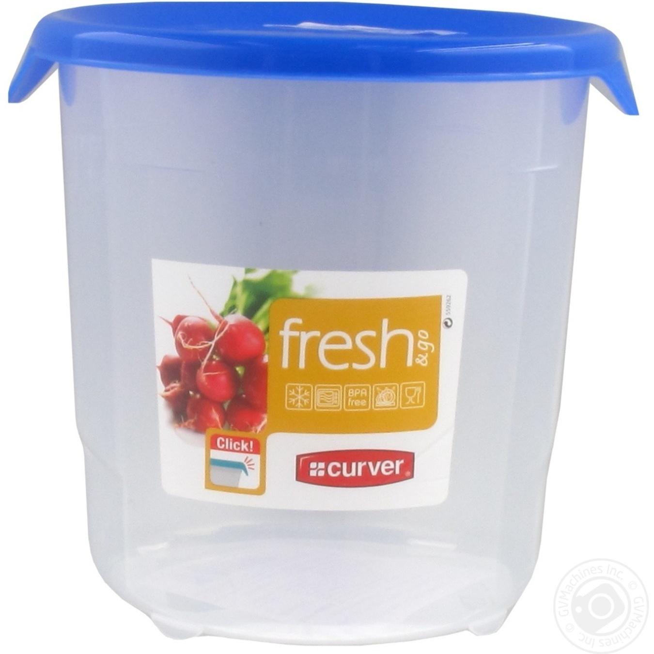 Емкость Fresh&Go для морозилки круглая 1л