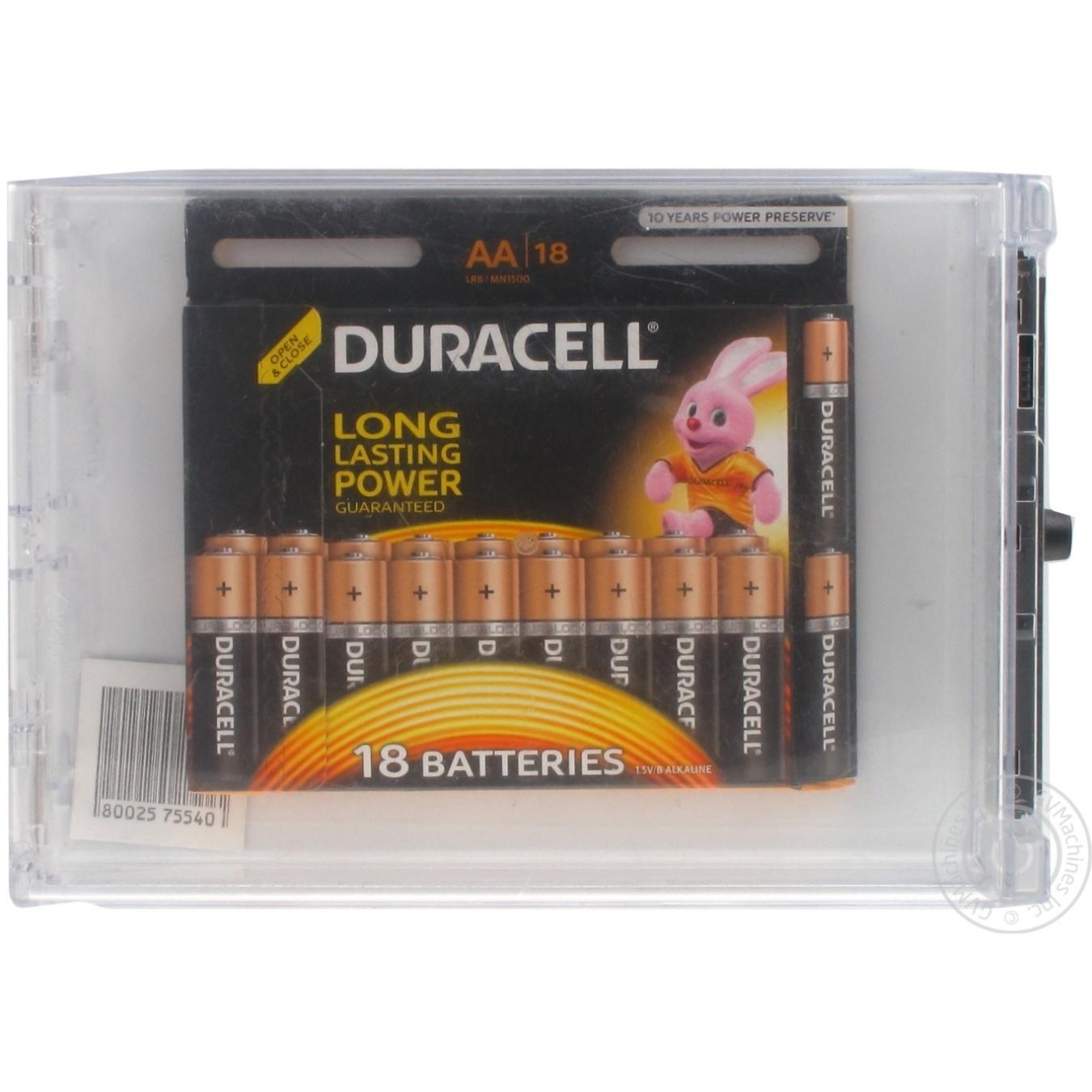 Батарейки Duracell AA 18шт