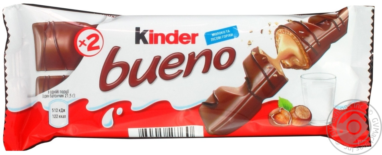 Батончик Kinder Bueno Т2