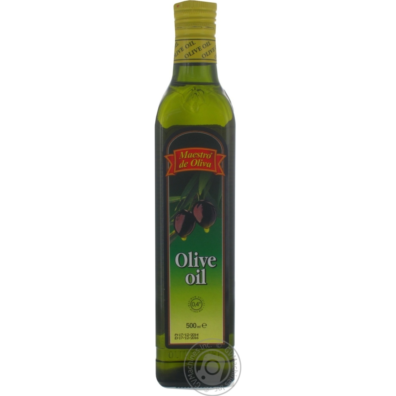 Масло оливковое Maestro de Oliva рафинированное 500мл