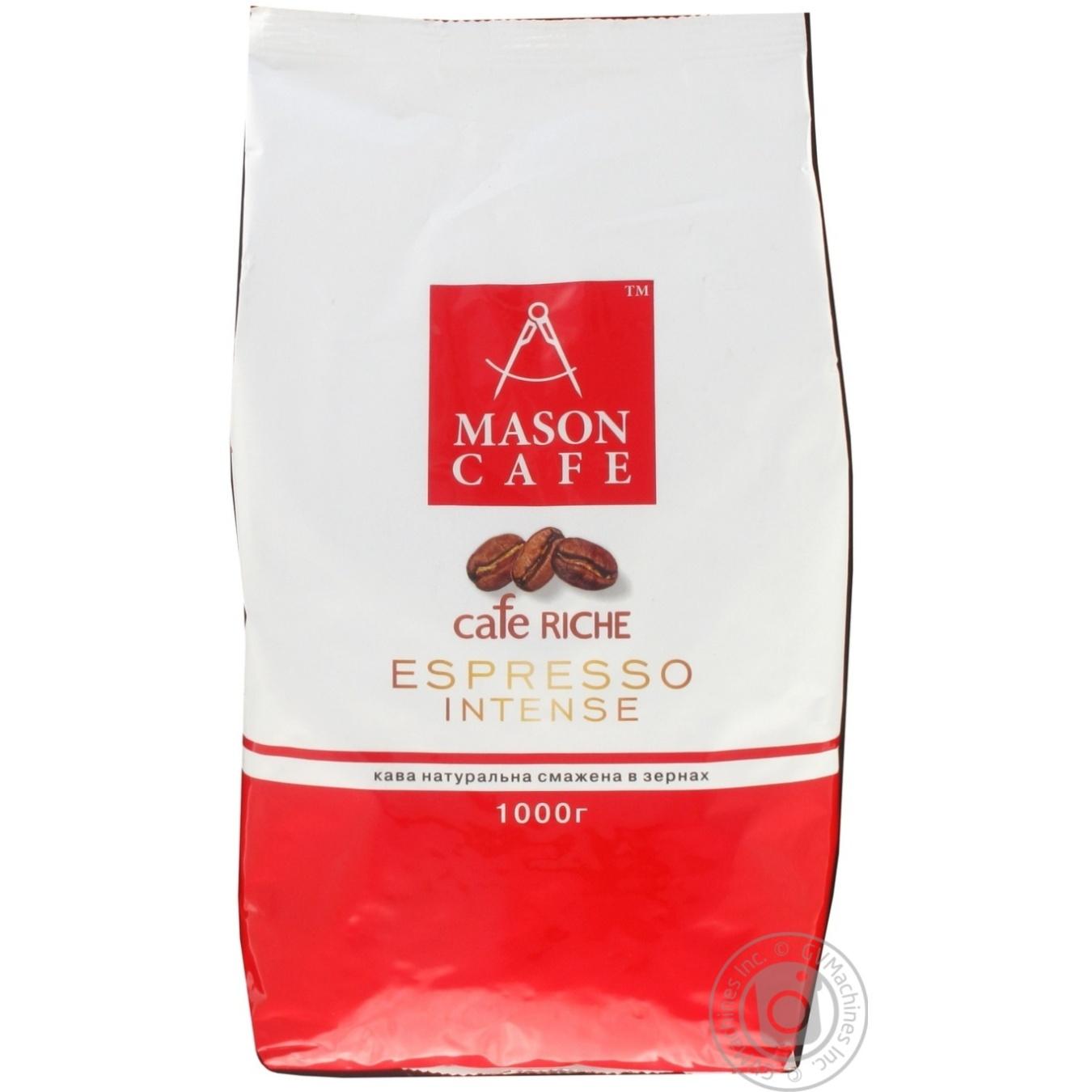 Кофе Mason Cafe Espresso Intense в зернах 1000г