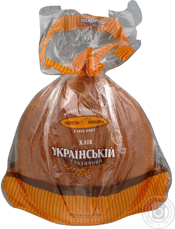 Хлеб Киевхлеб Украинский Столичный ржаной 950г