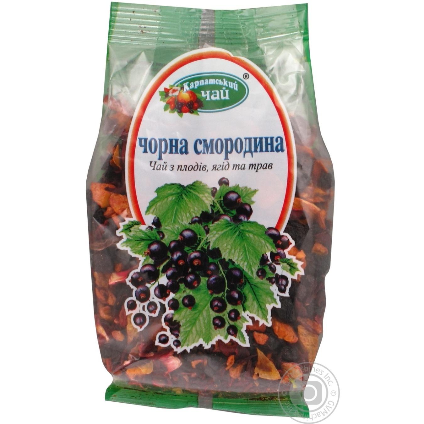 Чай Черная Смородина Карпатский Чай 100г