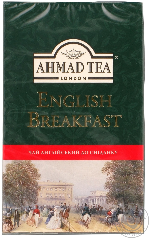 Чай Ахмад Английский к завтраку черный 100г