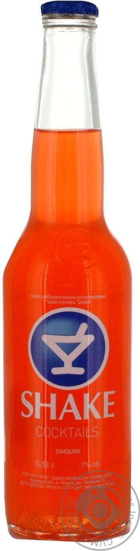 Напиток Шейк Дайкири слабоалкогольный газированный 7%об. 330мл