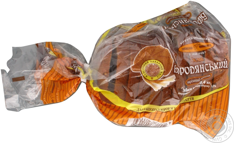 Хлеб Бородянский Киевхлеб нарезанный ломтиками 400г
