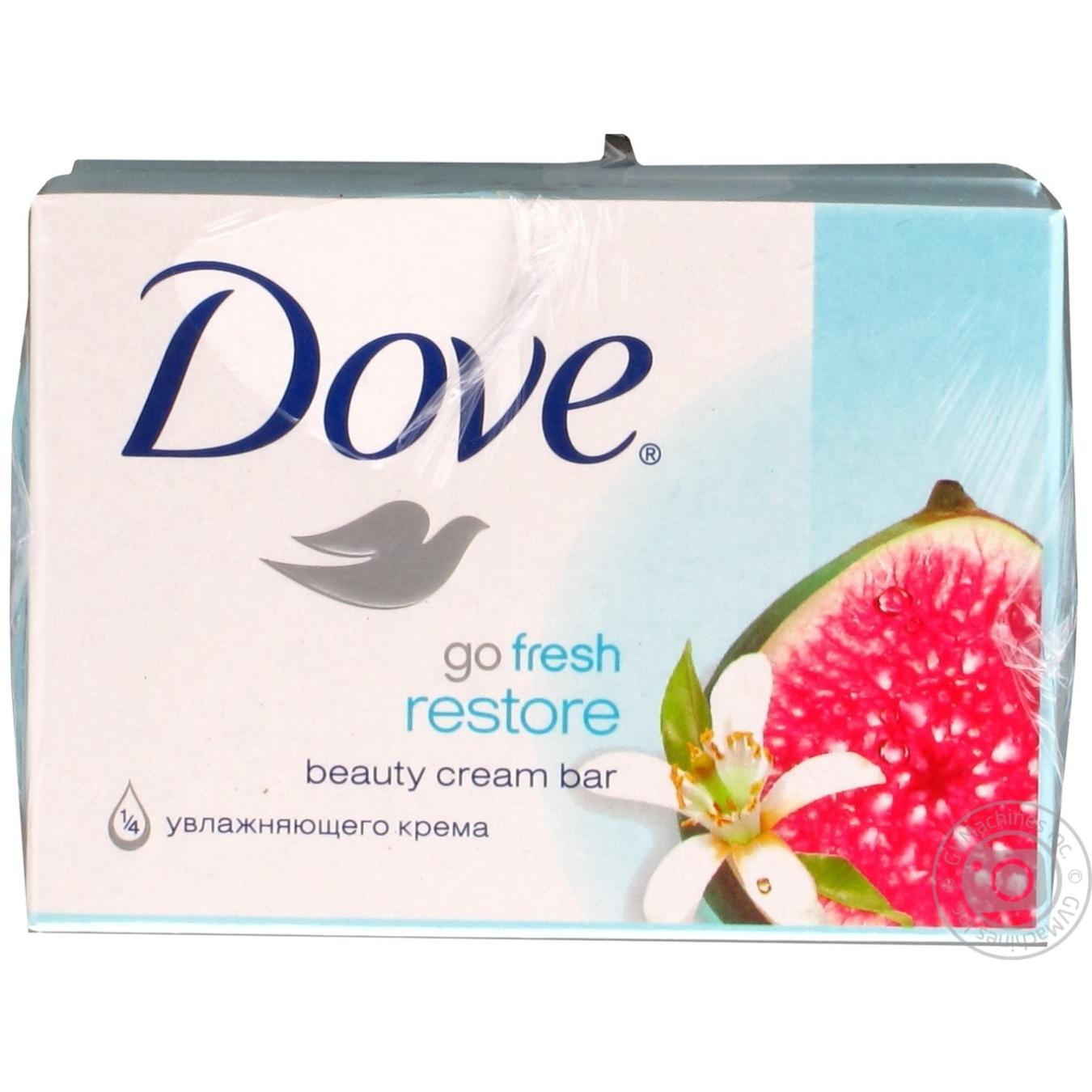 Dove Крем-мыло Инжир и лепестки апельсина 135г