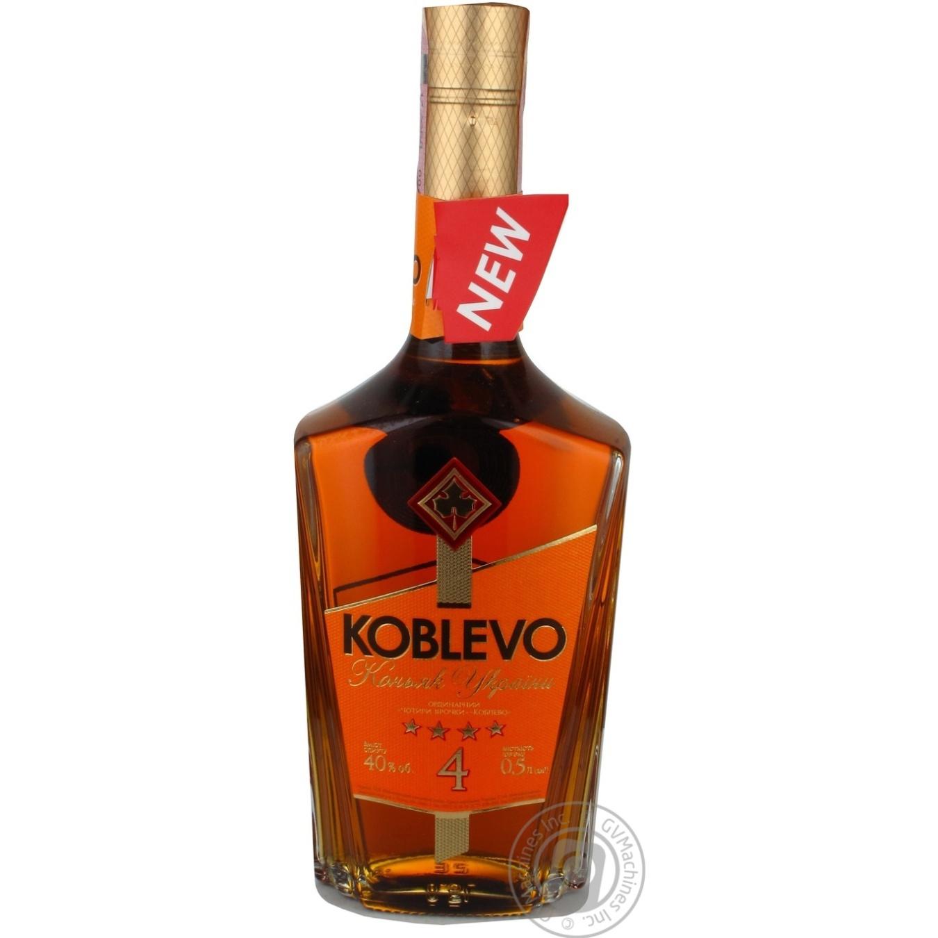 KOBLEVO КОНЬЯК УКР ОРД 4* 0,5