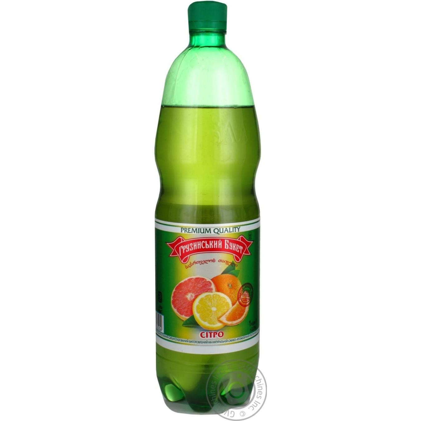 Напиток безалкогольный сильногазированный Грузинский букет Ситро 1л