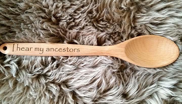 Choose 1 engraved spoon