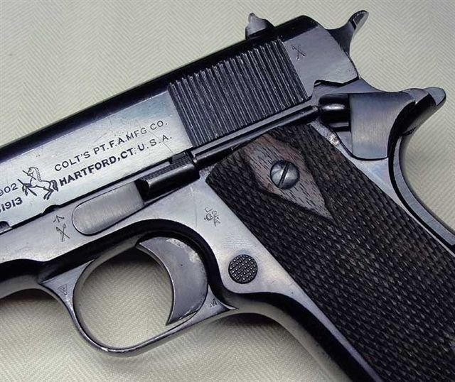 British-proofed Colt 1911 - Arms and other weapons - Great War Forum