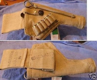 What is the correct holster for an Enfield No2 Mk1 Revolver