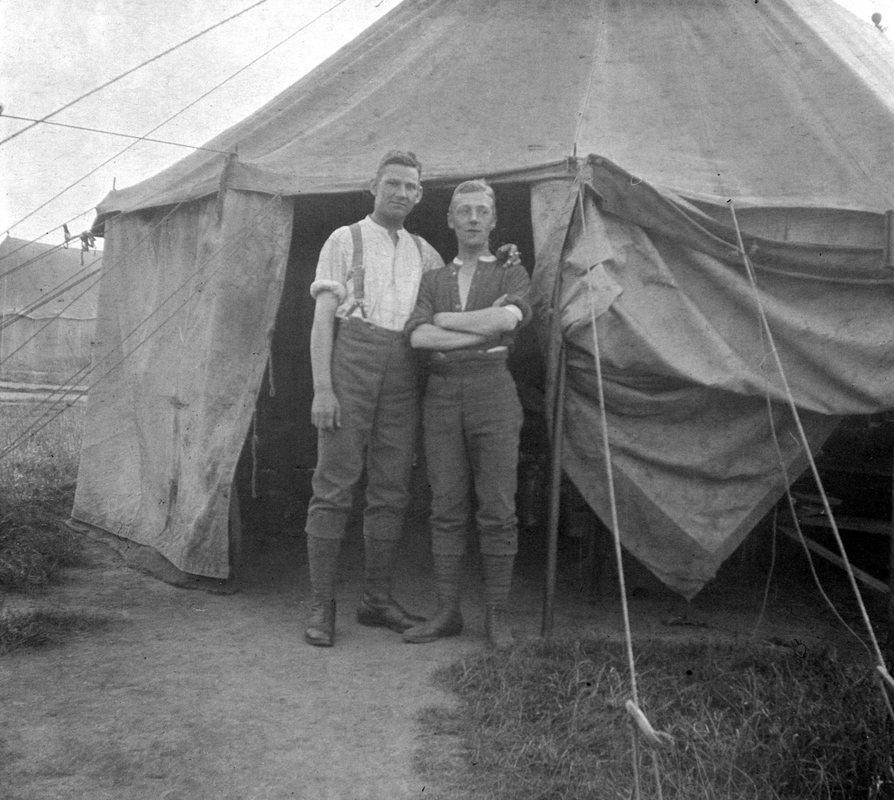 British and Empire Tents and Shelters of the Great War