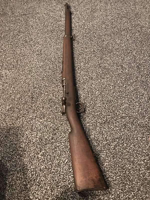 Help ID Turkish Mauser - Arms and other weapons - Great War Forum
