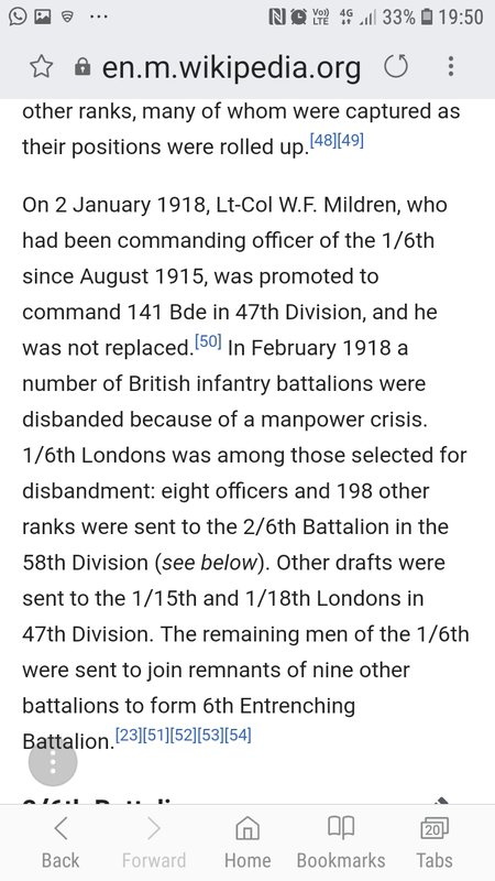 London Irish Rifles - Soldiers and their units - Great War Forum