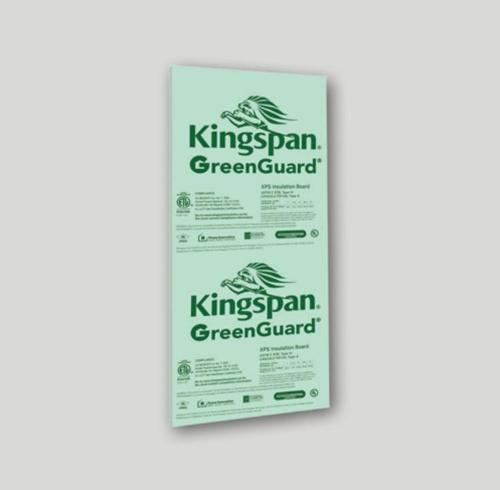 1 in x 4 ft x 8 ft Kingspan GreenGuard Type IV 25 psi XPS Insulation Board
