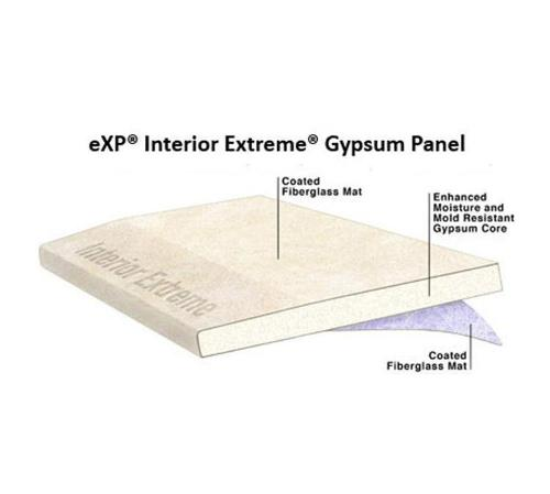 1/2 in x 4 ft x 12 ft National Gypsum Gold Bond BRAND eXP Interior Extreme Gypsum Panel