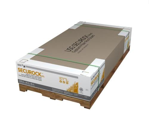 1/4 in x 4 ft x 8 ft USG Securock Brand Gypsum-Fiber Roof Board