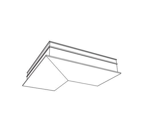 6 in USG Compasso Slim Inside Corner / White