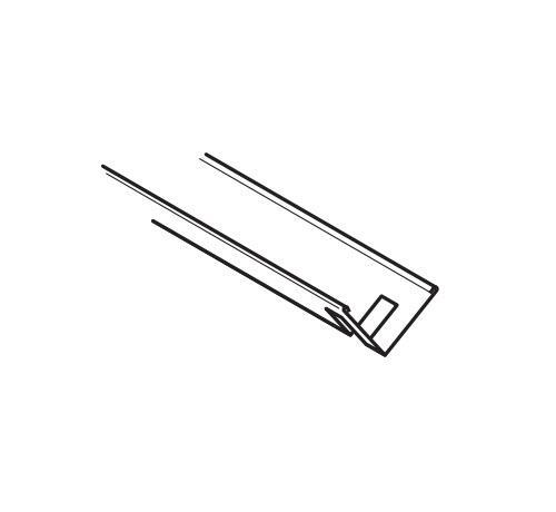4 ft USG Suspension System Standard Stabilizer Bar w/ 2 ft O.C. Notches - CC15-4-2