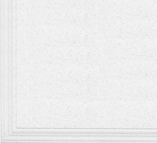 3/4 in x 2 ft x 2 ft CertainTeed Cashmere Style Edge Ogee Reveal Panel / White - CMO-124
