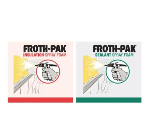 DuPont Froth-Pak 650 Iso Class A Foam Insulation - Part A