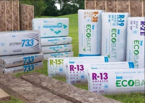 R25 8 in x 16 in x 48 in Knauf Unfaced Insulation