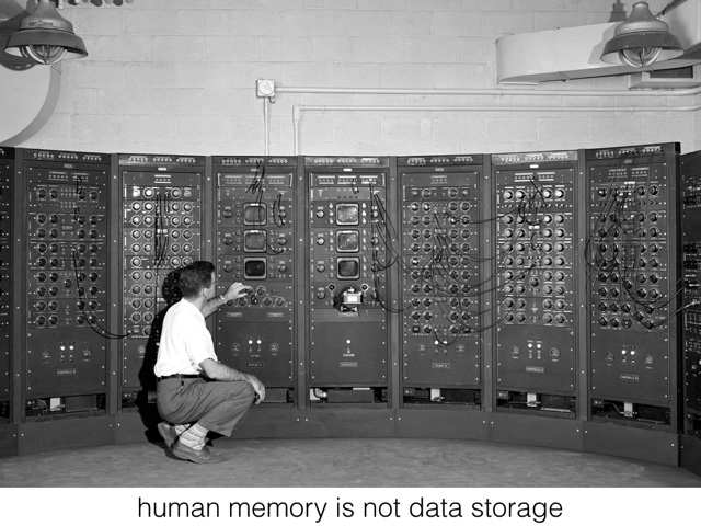 Memory Machines: Learning, Knowing, and Technological Change