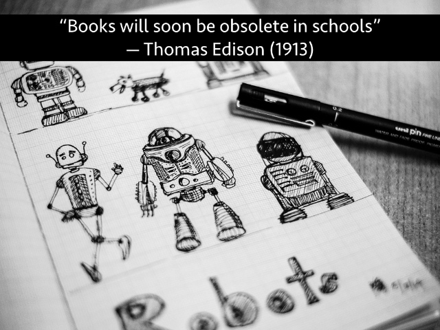 essay on computers will replace books