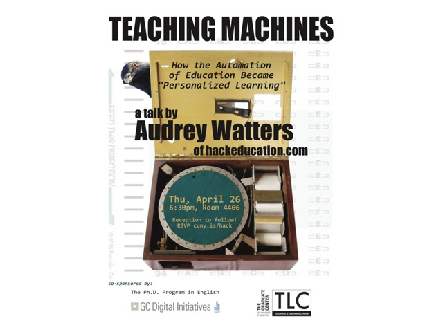 Teaching Machines, or How the Automation of Education Became