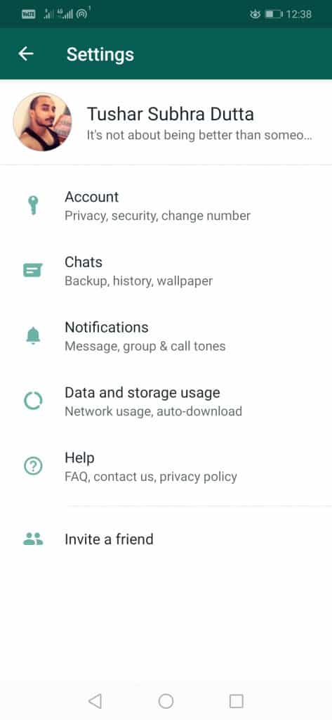 Step 1 WAPP 473x1024 - How To Change WhatsApp Phone Number Without Losing Chats And Groups