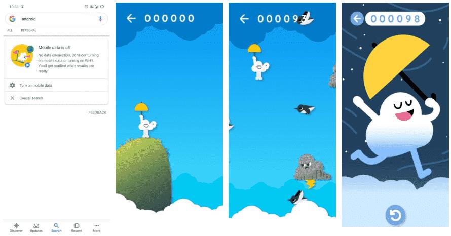 Game 1 - No internet? The Google App Has A New Hidden Game