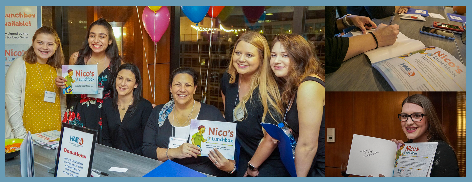 Nico's Lunchbox Book Signing