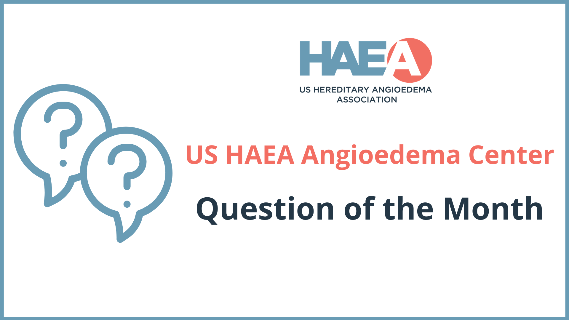 Should People with Hereditary Angioedema (HAE) Donate Blood?