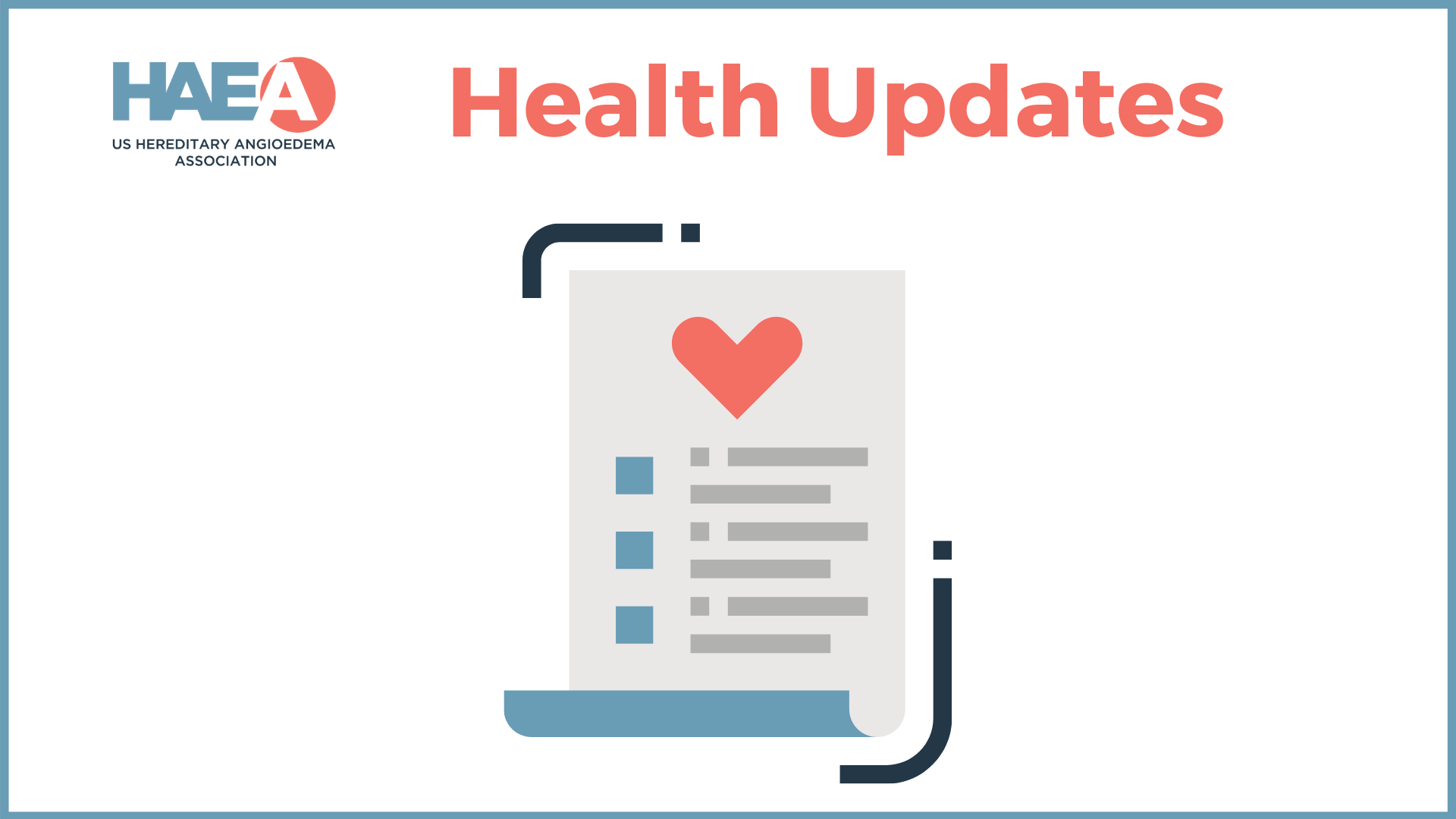 HAEA Health Update