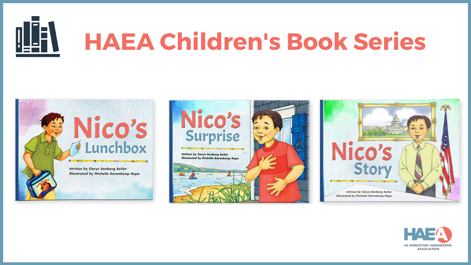 The third book in the HAEA Children's Book Series is now AVAILABLE!