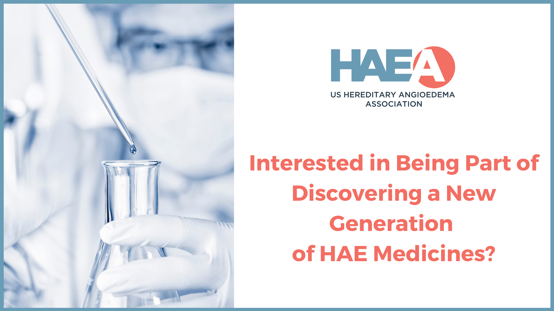 Make 2021 the Year to Join the Advance HAE Scientific Registry!
