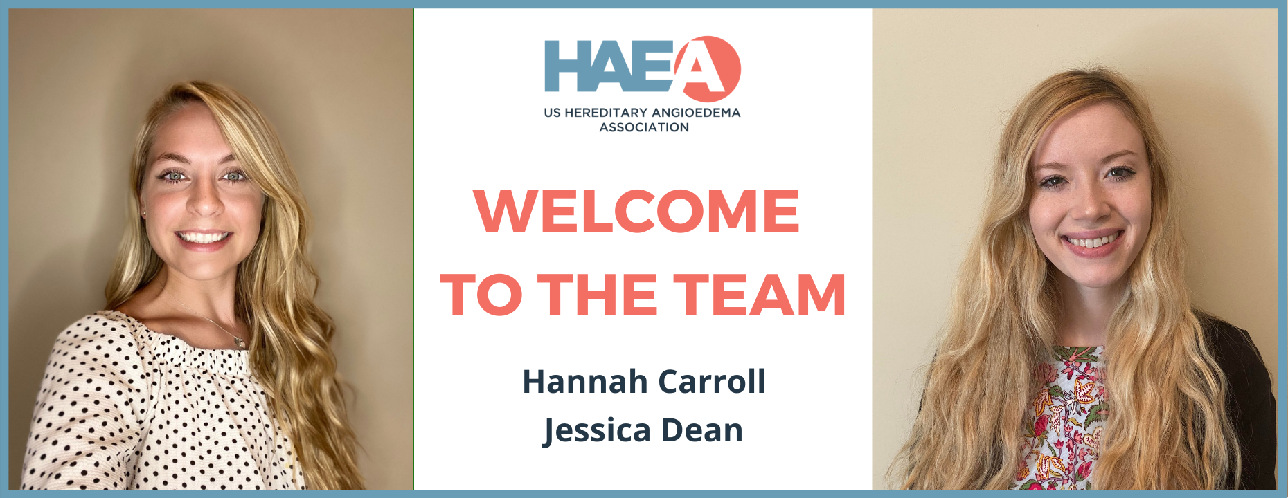 Welcome our NEWEST Members of the HAEA Team