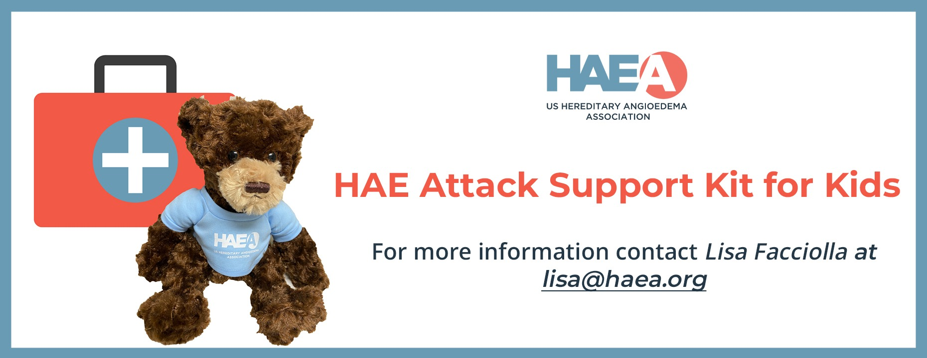 HAE Attack Support Kit for Kids