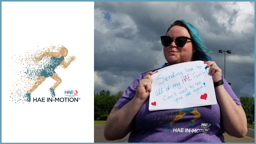 The US HAEA community is taking action for HAE with the 2021 HAE IN-MOTION® Virtual Challenge!