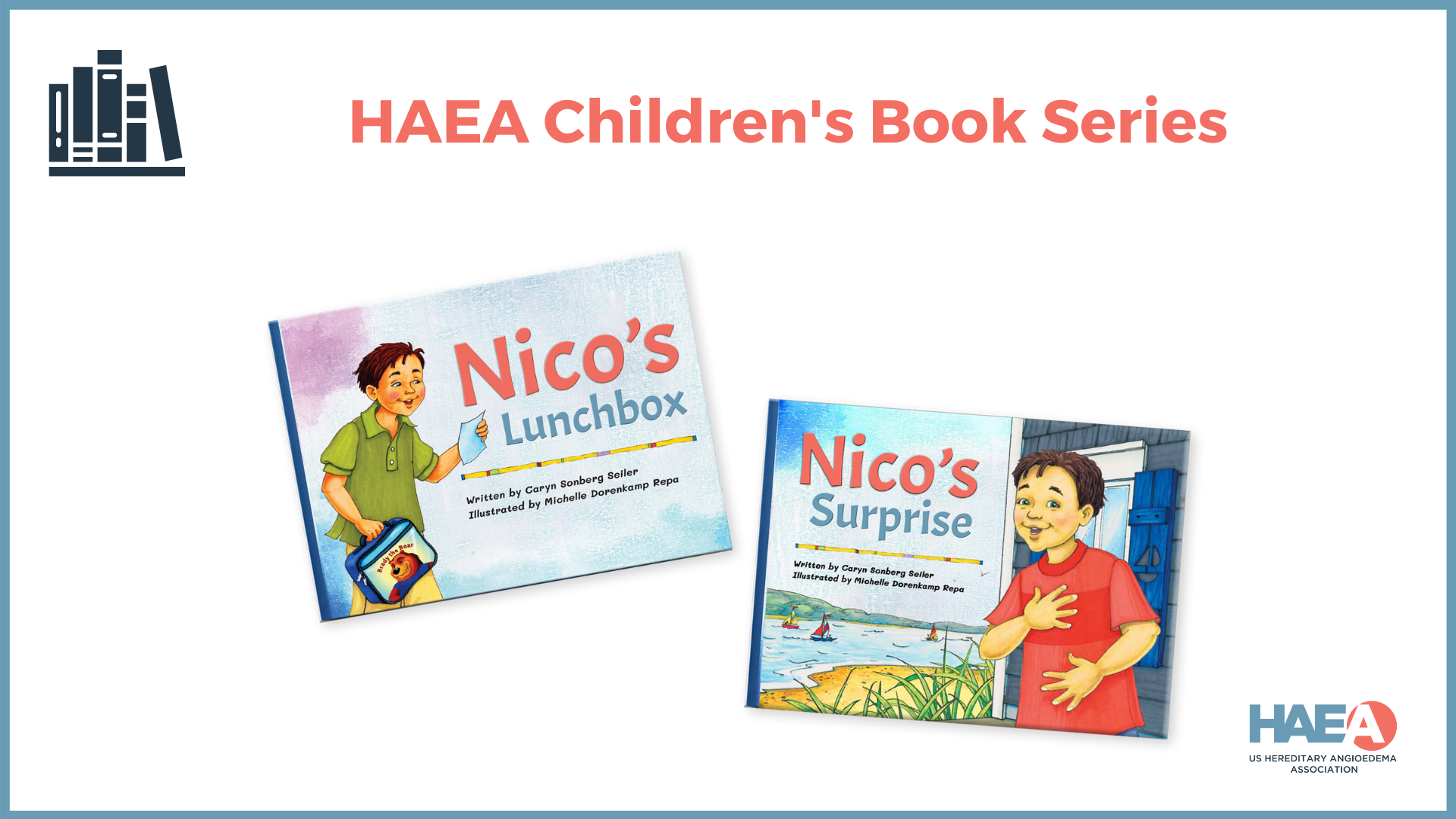 The HAEA Children's Book Series will celebrate the release of its third book in the series on May 16th during the HAEA Virtual Summit Series