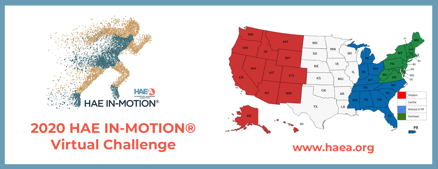 Registration is now open for the 2020 HAE IN-MOTION® Virtual Challenge.