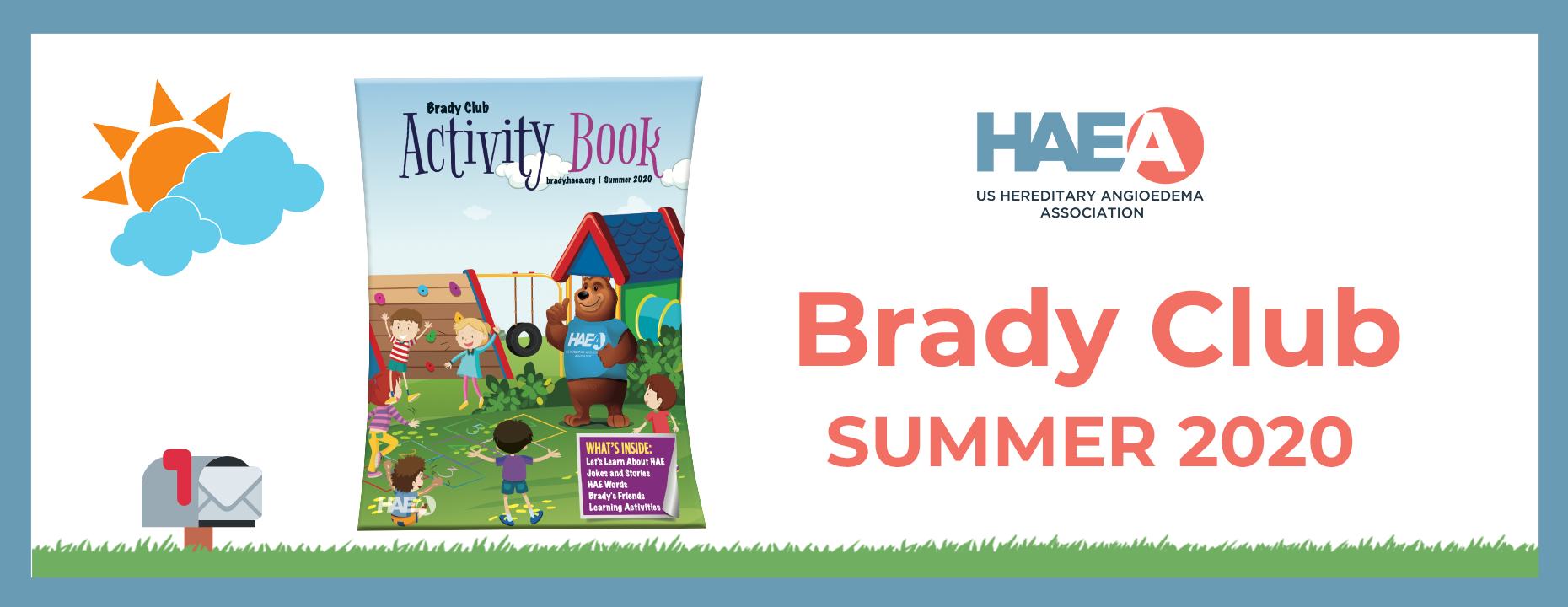 Brady Club - Summer 2020 Activity Book