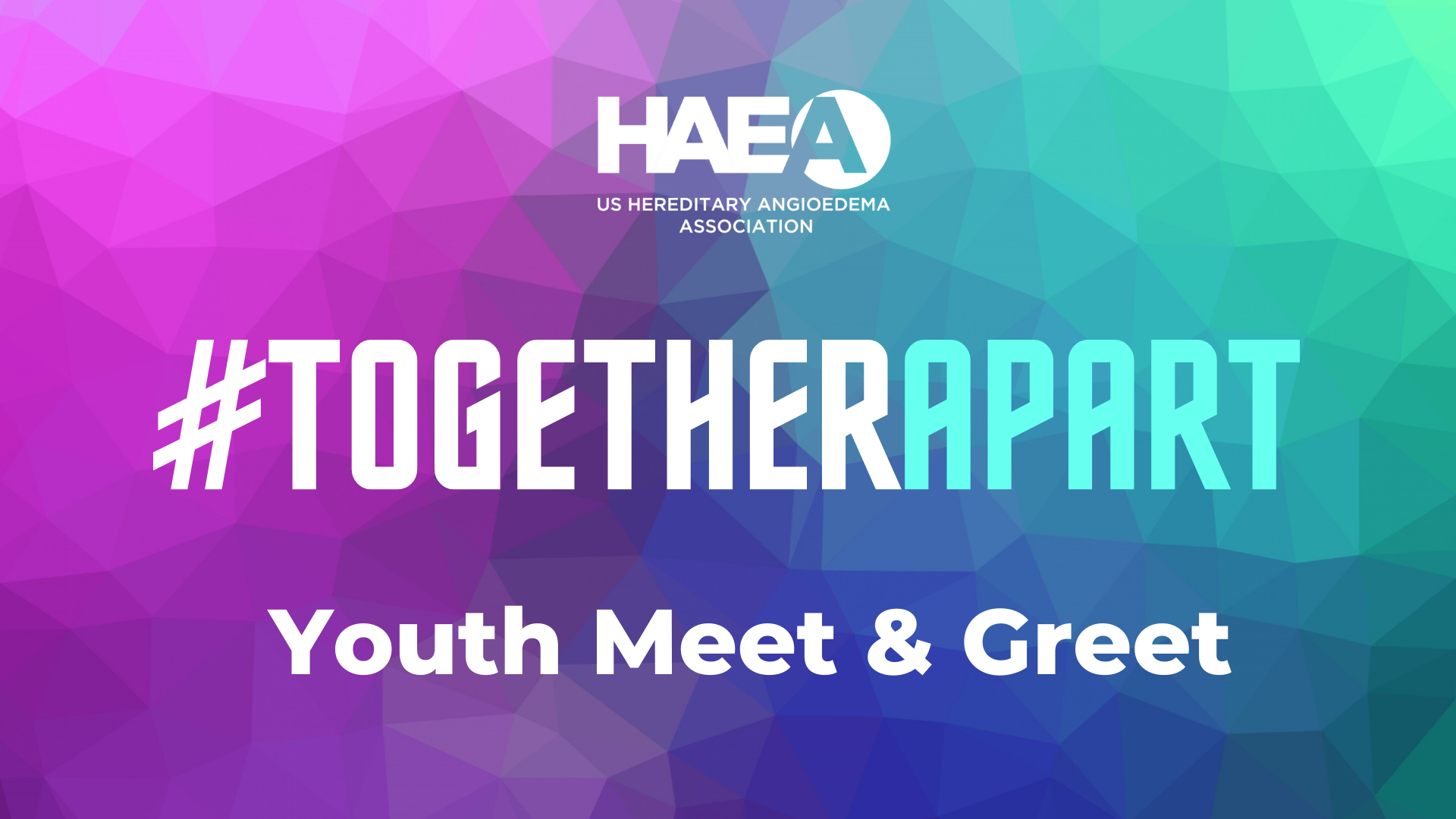 HAEA Youth #TogetherApart Meet and Greet Events!