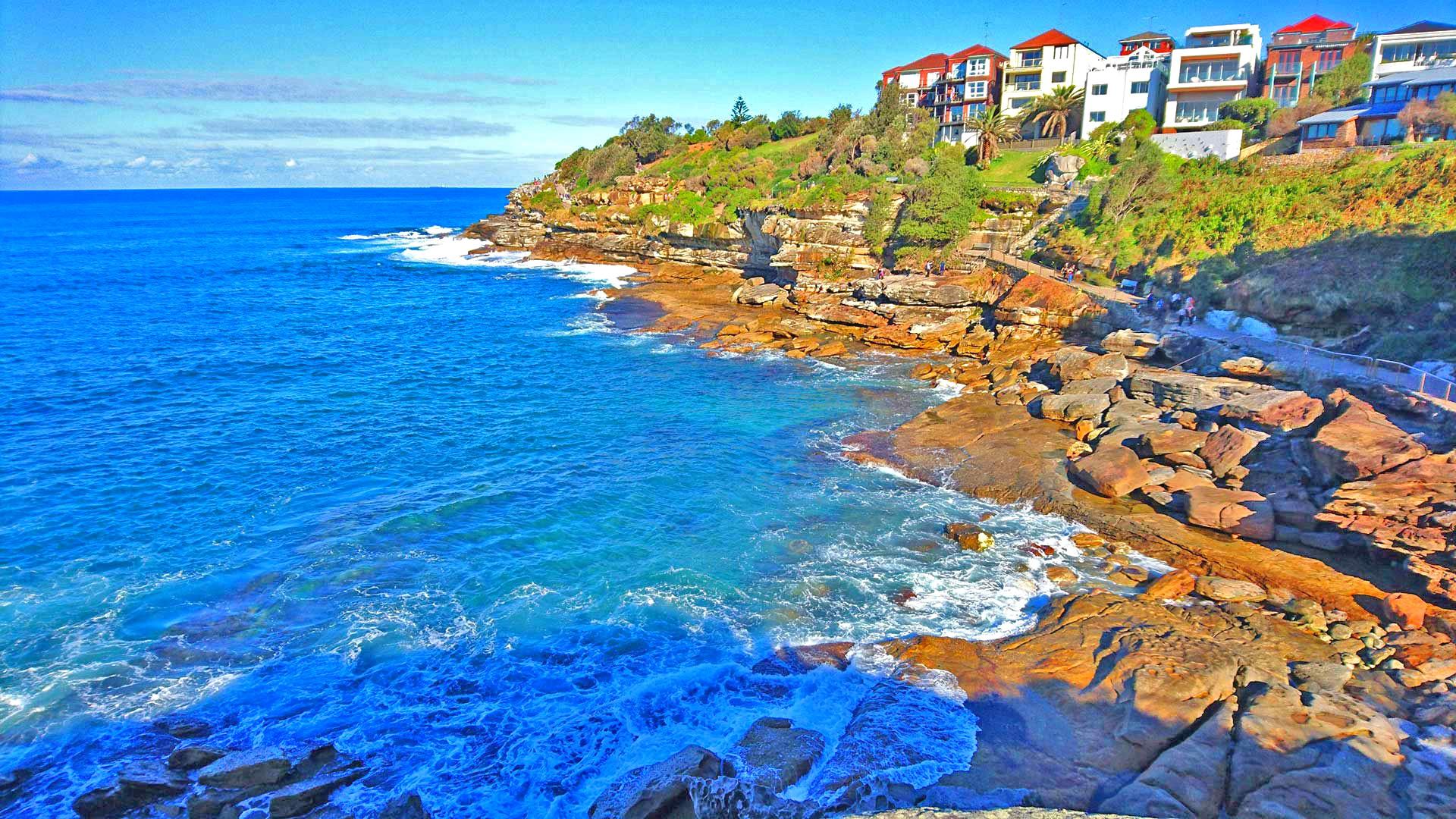 bondi beach coastal way